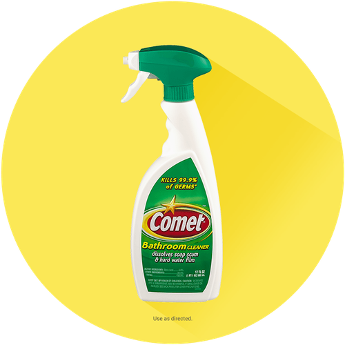 Comet® Bathroom Cleaner Spray With Disinfectant