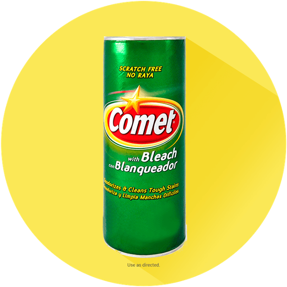 Comet kitchen bathroom cleaning products for Bathroom floor cleaning products