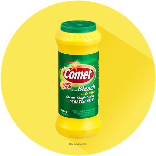 Comet® Lemon Powder Cleaner with Bleach