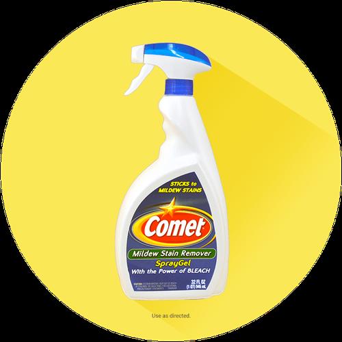 Comet® Mildew Stain Remover Spray Gel